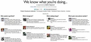 Esse site sabe o que você está fazendo...e acha que deveria parar