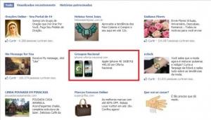 Hackers brasileiros utilizam anúncios do Facebook para aplicar golpes