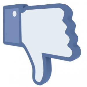 Pesquisa revela que Facebook tem alto índice de rejeição