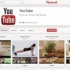 YouTube cria página no Pinterest