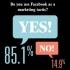 Facebook é estratégia de marketing para maior parte dos anunciantes